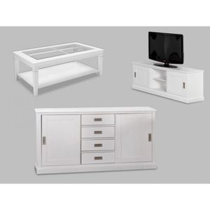 meubles salon achat vente meubles salon pas cher cdiscount. Black Bedroom Furniture Sets. Home Design Ideas