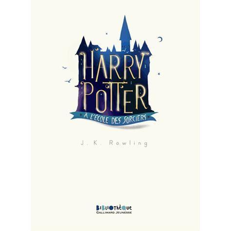 Livre 9 -12 ANS Harry Potter à l'école des sorciers