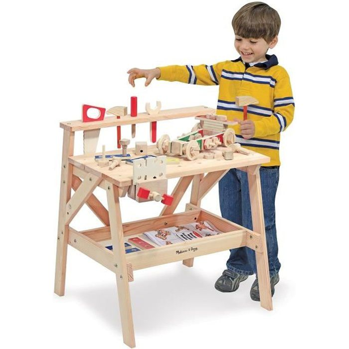 MELISSA AND DOUG Etabli en Bois