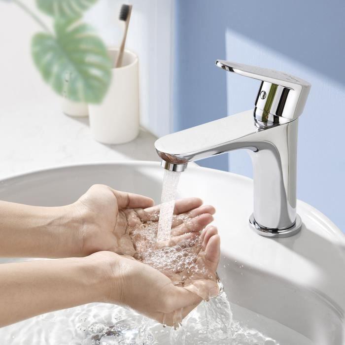 Robinet de salle de bains cascade