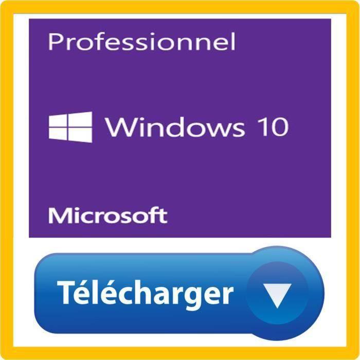 Windows 10 fr en telechargement - Seulement Email PRODUIT