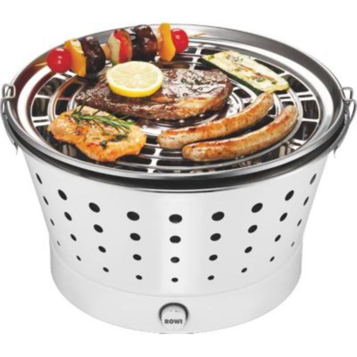 Barbecue grill portable de table au charbon ROWI VIVA CLASSIC