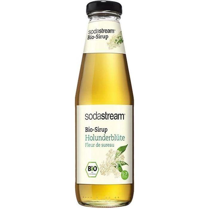 SODASTREAM - Sirop Bio fleur de sureau 500ml