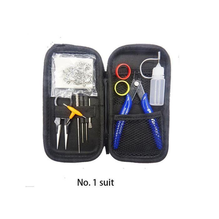 X6 Cigarette Kit Sets Mis À Jour Vape Tool Kit Coiling Kit Cigarette Accessories, 01 #