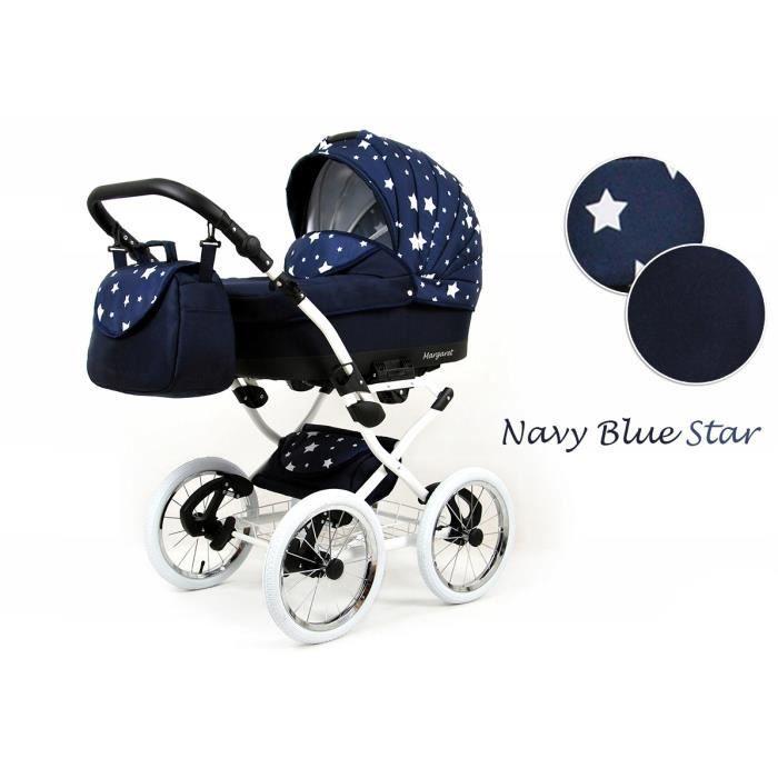 Navy Blue Star 4en1 avec Isofix