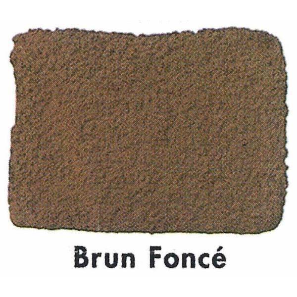 Colorant pour ciment brun foncé 750 g