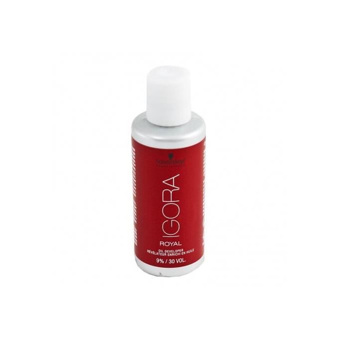 Crème Peroxyde 9% vol 30 enrichi en huile Igora de Schwarzkopf Professional 60ml