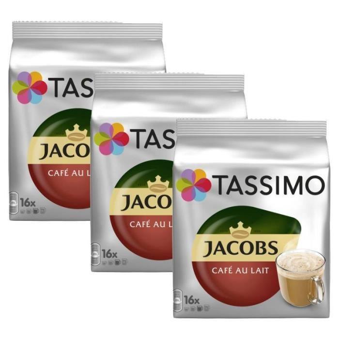 3 Tassimo Jacobs Café Au Lait