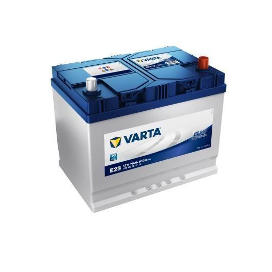 VARTA Batterie Auto E23 (+ droite) 12V 70AH 630A