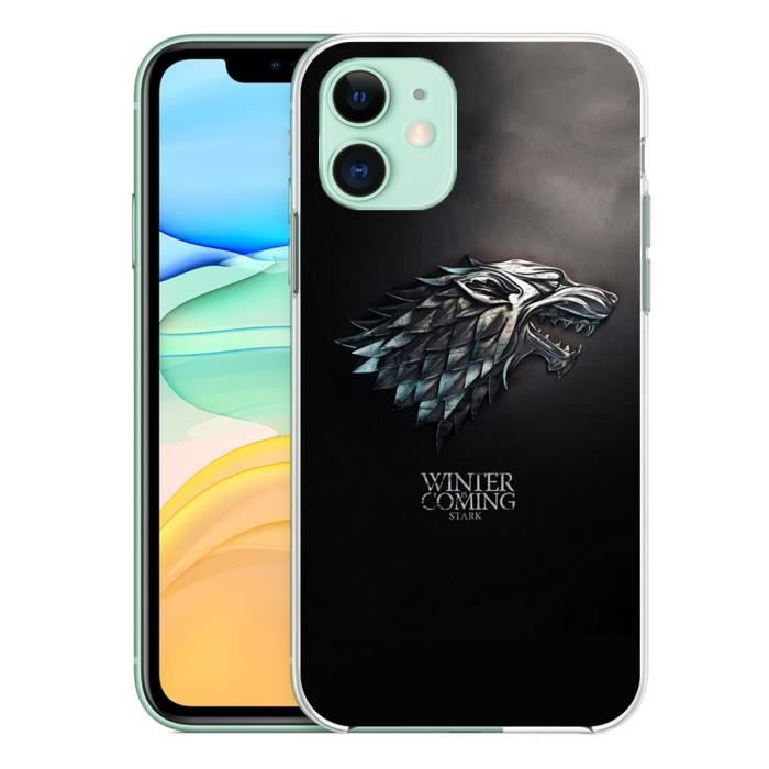 Coque pour iPhone 11 Game Of Thrones Stark