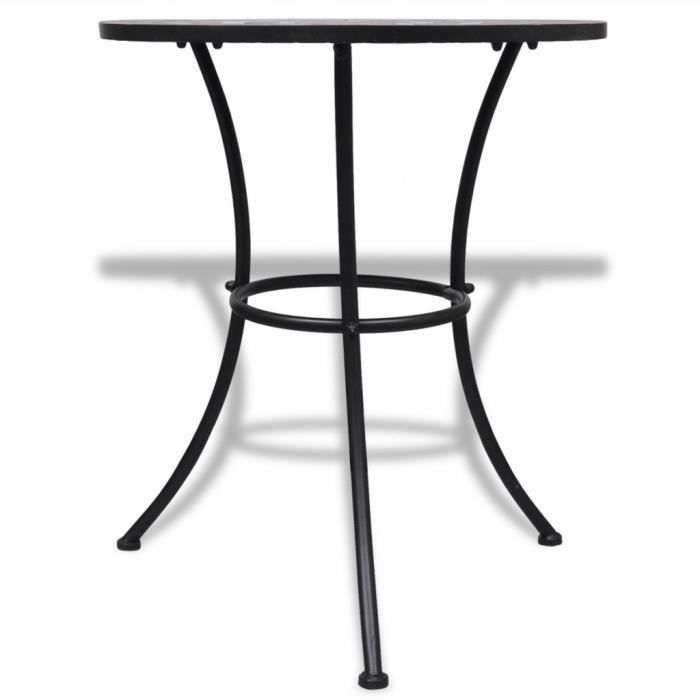 Tables d 39 exterieur table mosaique terre cuite blanc achat vente table de jardin tables d for Achat table de jardin mosaique