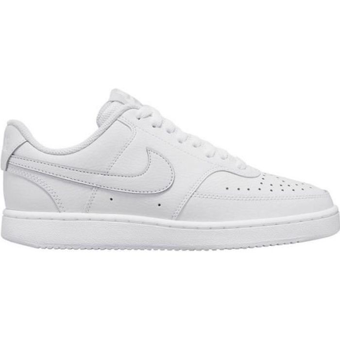 NIKE Baskets Court Vision Low Blanc Homme