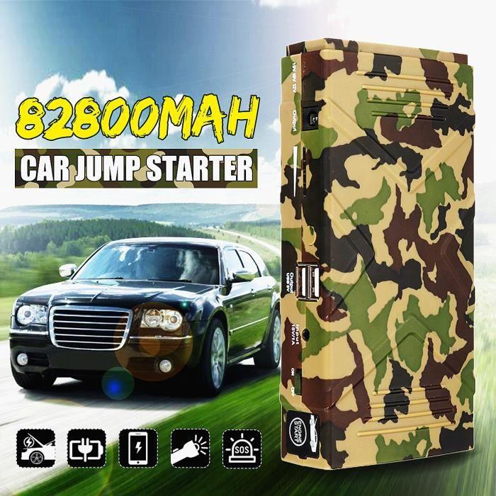 STATION DE DEMARRAGE Jump Starter 82800mAh 12V Chargeur Booster Batteri