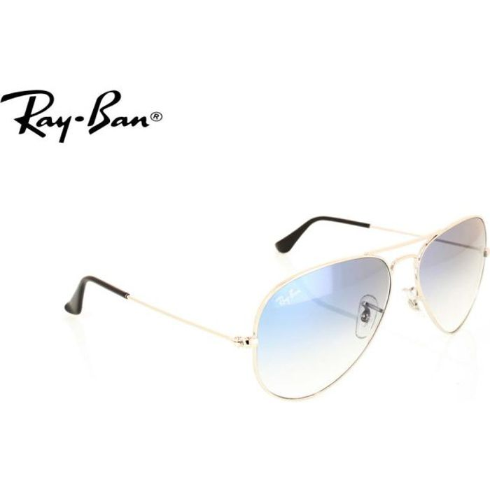 ray ban aviator verre transparent