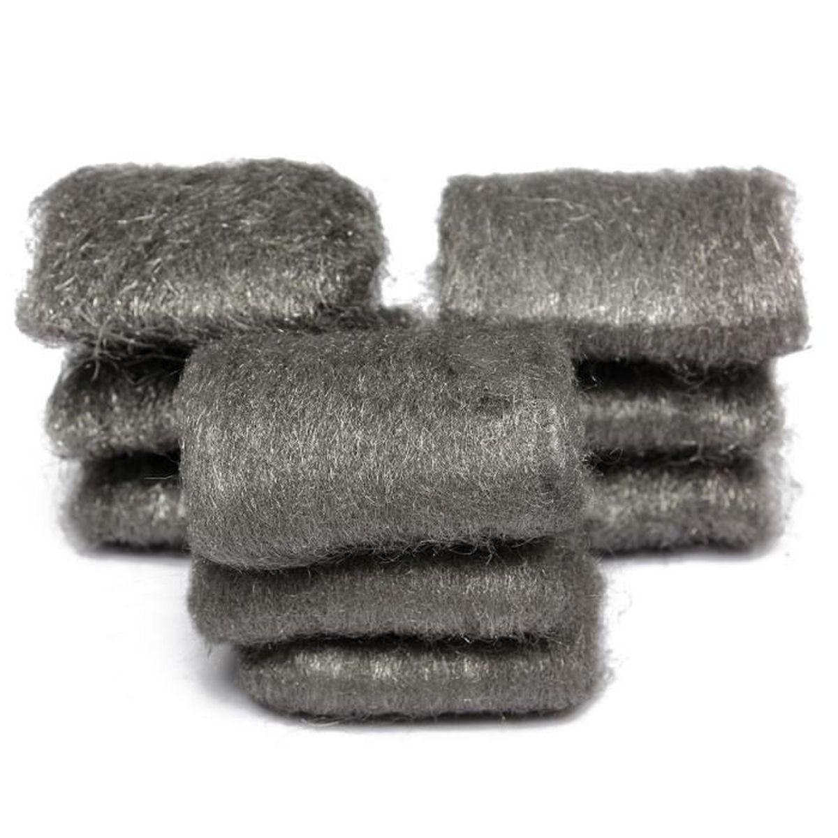 Preamer Lot de 20 brosses de polissage pour tissu de polissage de 2,5 cm avec tige de 6,35 mm