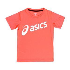 T-SHIRT ASICS T-shirt d'Entrainement K's Essentials - Rose
