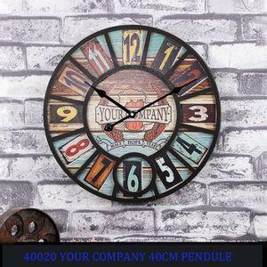 HORLOGE - PENDULE YOUR COMPANY  Pendule Murale 40020 Pendule Horloge