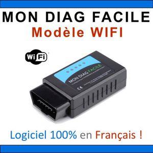 OUTIL DE DIAGNOSTIC MON DIAG FACILE - ELM327 - Version WIFI - Fabricat