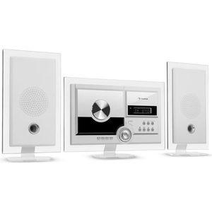 RADIO CD CASSETTE auna Stereo Sonic DAB+ Chaîne HiFi avec lecteur CD