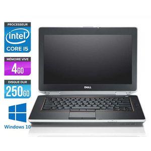 ORDINATEUR PORTABLE Dell E6420 -Core i5 2,5GHz -4Go -250Go -Windows 10