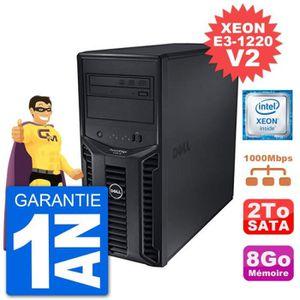 SERVEUR RÉSEAU Serveur DELL PowerEdge T110 II Xeon QuadCore E3-12