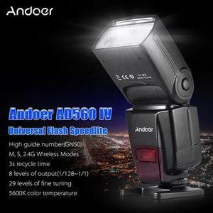 FLASH Andoer AD560 IV 2.4G Sans fil Flash Esclave Speedl