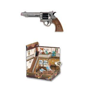 TWIN GUN Tin Can Alley jeu Enfants Jouet de Noël de tir soft Safe Fléchettes