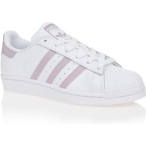 adidas superstar blanc et rose
