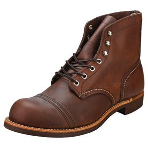 BOTTE Botte - Red Wing - Iron Ranger - Homme - ambre