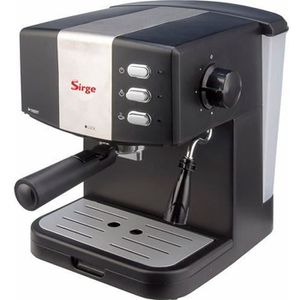 COMBINÉ EXPRESSO CAFETIÈRE Sirge GRANBAR Machine café expresso et poudre de c
