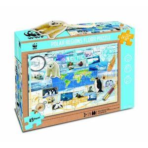 PUZZLE WWF - 997 - PUZZLE DE SOL - DES ANIMAUX POLAIRE…