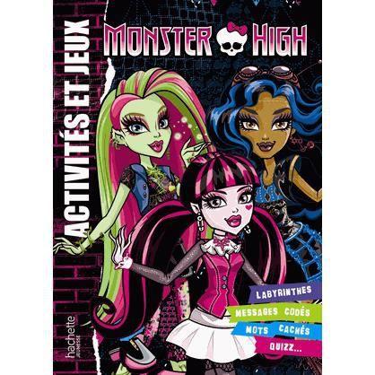 Activités et jeux Monster High