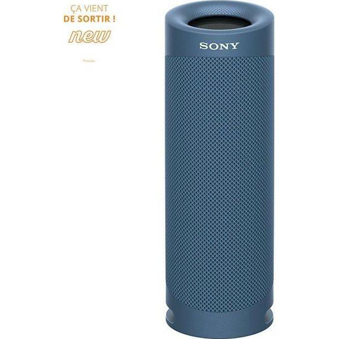 SONY SRSXB23L Enceinte Bluetooth - Autonomie 12h - Splash proof - Bleu
