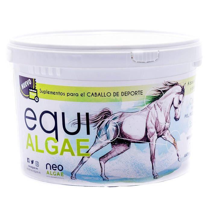 Complément alimentaire pour chevaux - Riche en vitamines A, C, D, B et biotine - Anti-inflammatoire - Composants 100% naturels: m