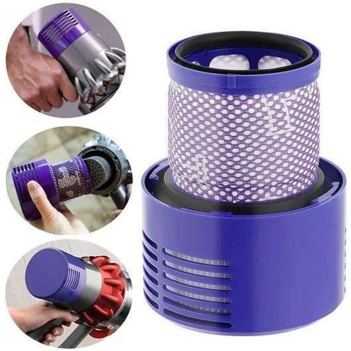Filtre de Rechange pour Aspirateur pour Dyson V10, SV12, Compatible avec Dyson Cyclone V10 Motorhead Cordless Vacuum Cleaner H01E4