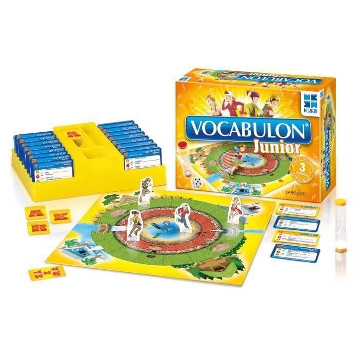 MEGABLEU jeu de société Vocabulon Junior