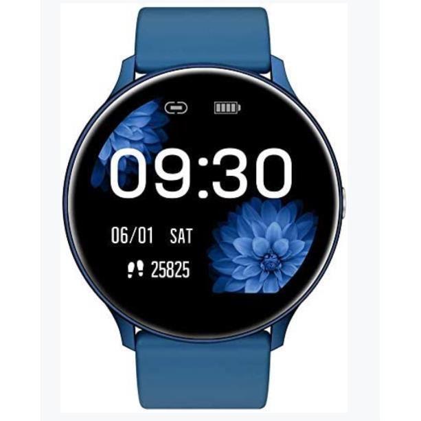 Montre Connectée, Sport Smartwatch Homme Femme avec Podomètre Moniteur de Fréquence Cardiaque Tracker d'Activité Appeler SMS Rappele