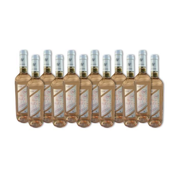 Domaine du Cassard - Château des Quatre Vents - Bordeaux Rosé - Lot de 12 bouteilles