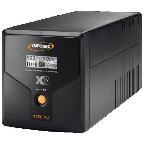 INFOSEC UPS SYSTEM Onduleur X3 EX 1200 - LCD - USB