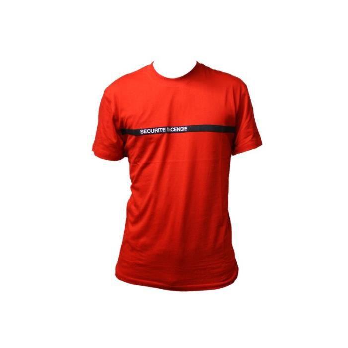 PREMIUM Tee-Shirt SECURITE INCENDIE - Vetsecurite Premium