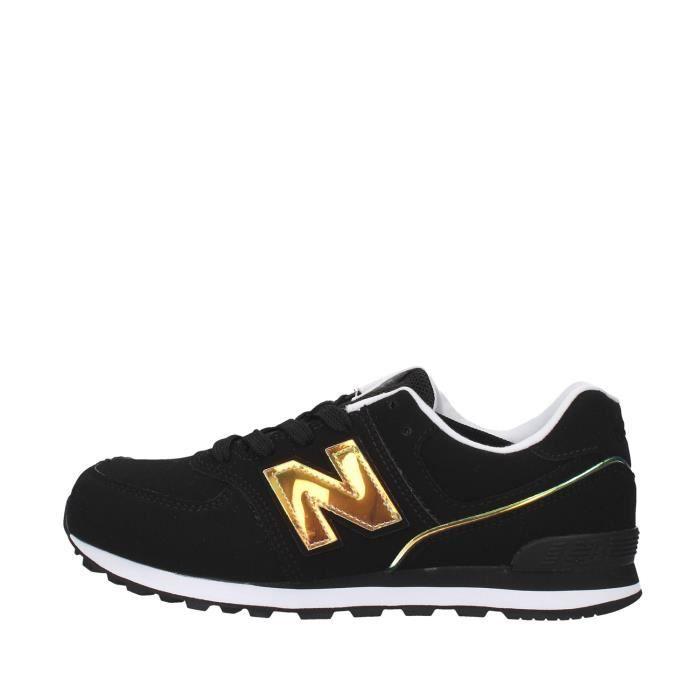 New Balance GC574MTK chaussures de tennis faible Unisexe NOIR