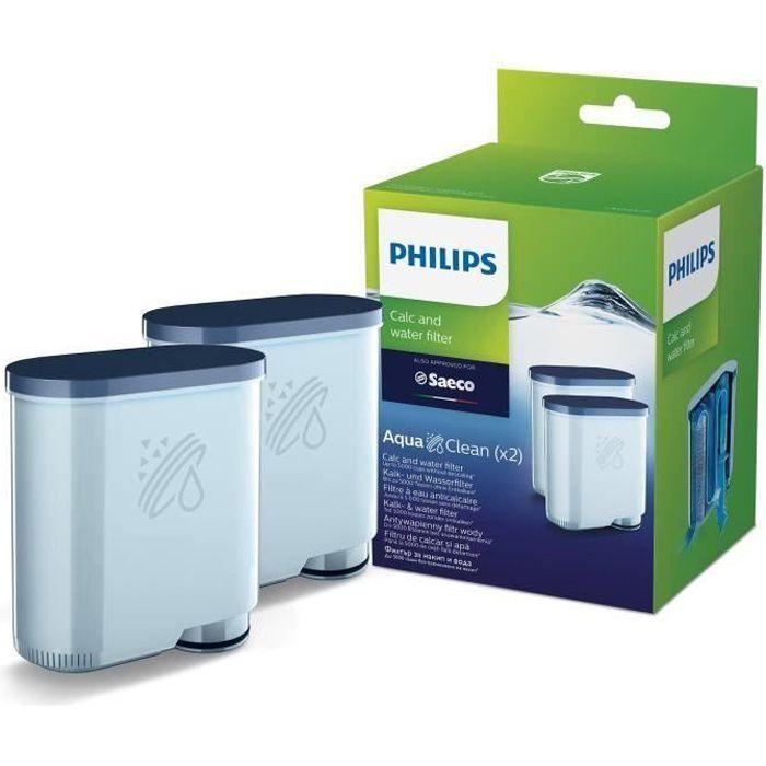 PHILIPS CA6903/22 Lot de 2 filtres à eau et à calcaire AquaClean