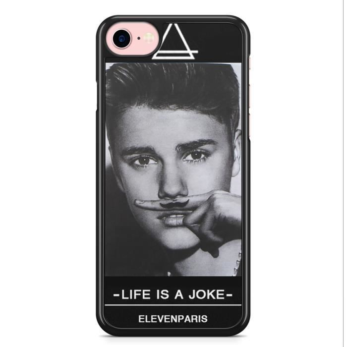 coque iphone 7 plus et iphone 8 plus justin bieber