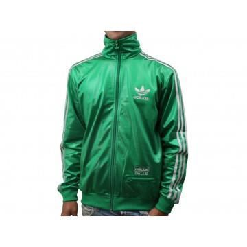 m c62 trf tt veste homme adidas vert achat vente. Black Bedroom Furniture Sets. Home Design Ideas