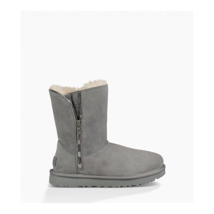Botte UGG W MARICE - Age - ADULTE, Couleur - GRIS, Genre - FEMME, Taille - 37