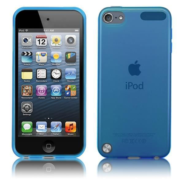coque ultra fine pour apple ipod touch 5 en bleu achat. Black Bedroom Furniture Sets. Home Design Ideas