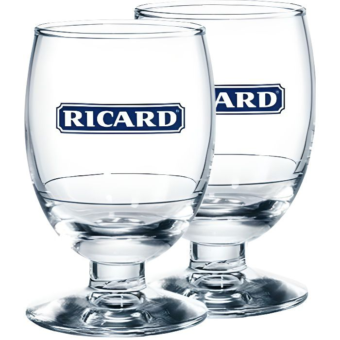 6 verres ricard ballon bleu 17 cl achat vente verre cocktail 6 verres ricard ballon bleu. Black Bedroom Furniture Sets. Home Design Ideas