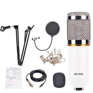 MICROPHONE 3 en 1 Vogue BM800 Microphone à condensateur Pro S
