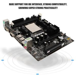 MONTRE Carte mère PC processeur AM2 AM3 M-ATX mémoire DDR