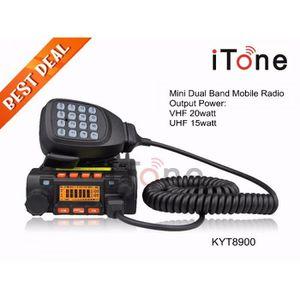 TALKIE-WALKIE Qyt Kt8900 Uhf Vhf Portable Radio De Voiture Mini